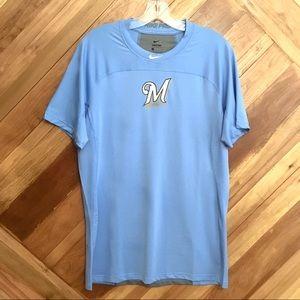 Nike Pro Milwaukee Brewers Shirt